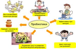 Эффективность пробиотиков