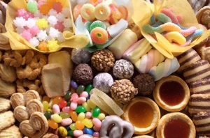 Переедание сладостей