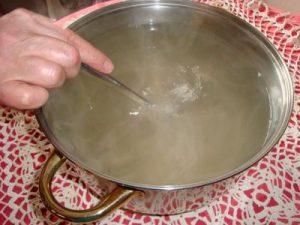 Приготовление мыльного раствора