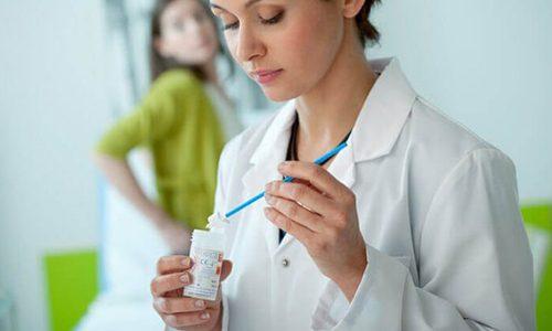 Диагностика молочницы у женщин