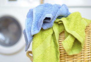 Использование чистых полотенец