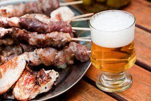 Отказ от алкоголя и острой пищи
