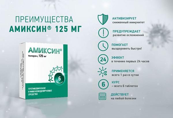Гроприносин таблетки 500 мг  инструкция по применению