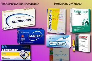Препараты для лечения герпеса