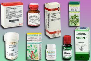 Гомеопатические лекарства при молочнице