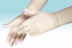 Использование перчаток