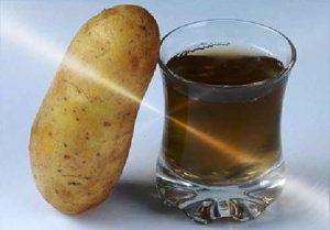 Настойка из картофельных ростков