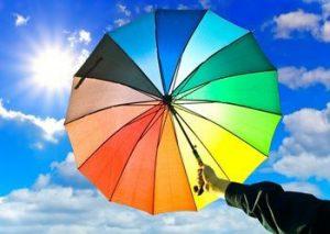 Защита кожи от ультрафиолетовых лучей