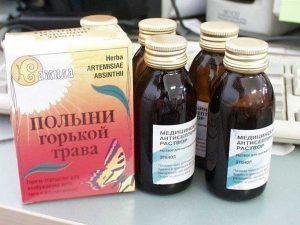 Аптечная настойка полыни
