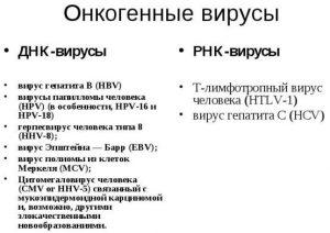 Онкогенные вирусы