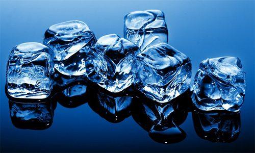 Использование льда