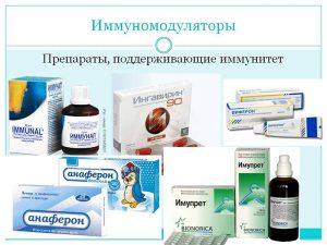 Современные иммуномодуляторы