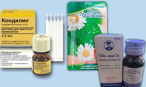 Средства для лечения 1 стадии заболевания
