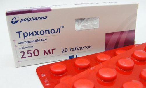 Антибиотик Трихопол