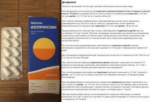 Дозировка Инозиплекса