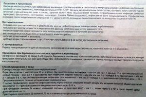 Показания и применение Цефотаксима