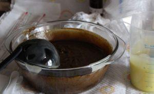Приготовление дегтярного масла