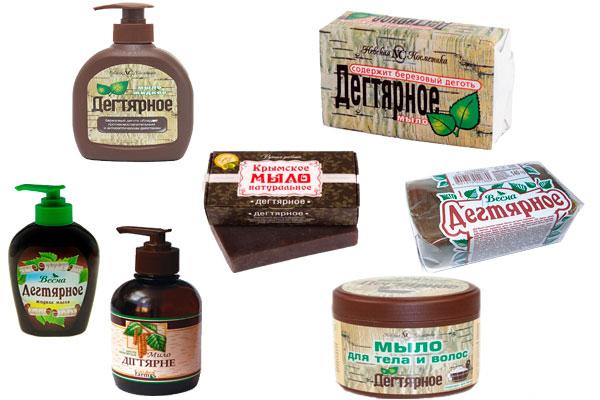 Дегтярное мыло от папиллом — особенности применения