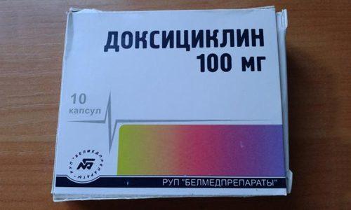 Доксициклин при уреаплазме схема лечения мужчин