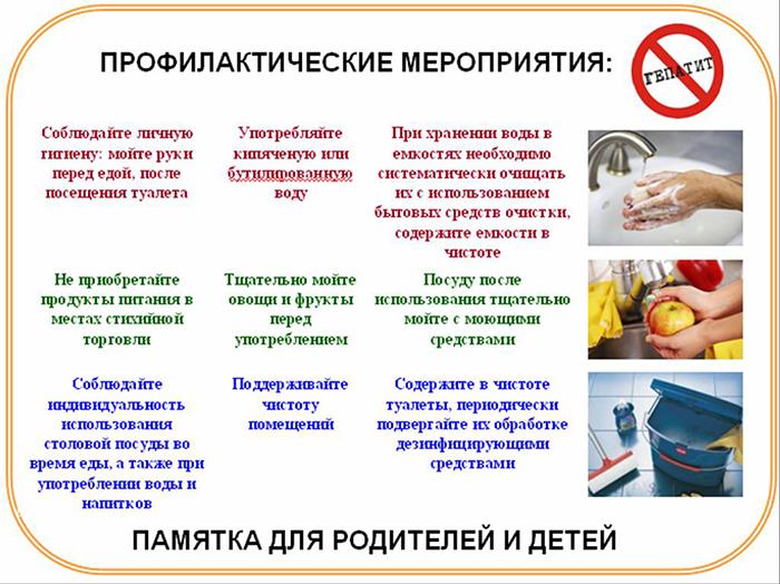 Профилактика вирусного гепатита В: необходимые меры