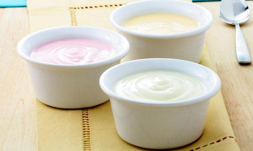 Обезжиренные йогурты