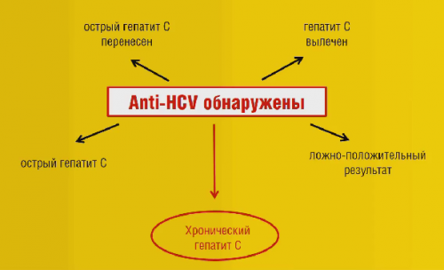 Обнаружение анти-HCV