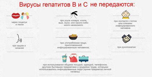 Особенности передачи вирусов
