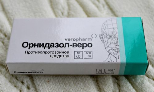 Препарат Орнидазол-веро