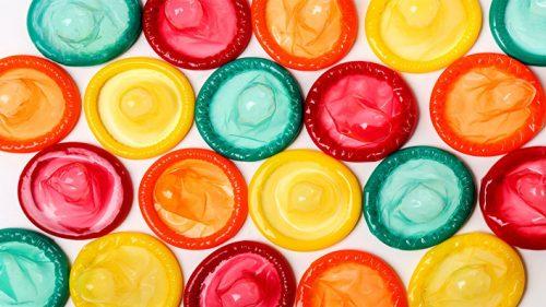 Применение презервативов