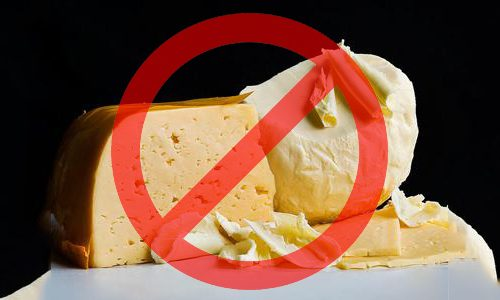 Сливочное масло и сыр