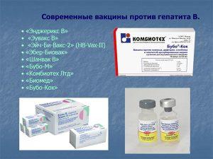 Современные вакцины