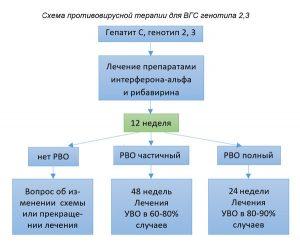 Терапия Интерфероном и Рибавирином