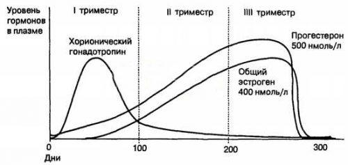 Уровень гормонов в плазме