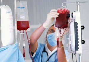Заражение при переливании крови