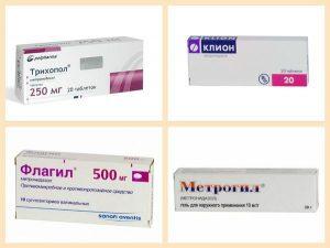 Аналоги Метронидазола