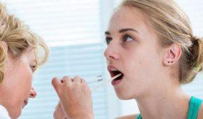 Диагностика сифилитической ангины