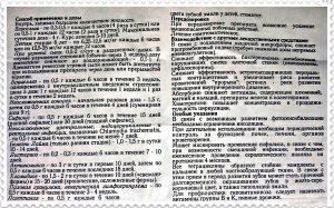 Инструкция к Тетрациклину