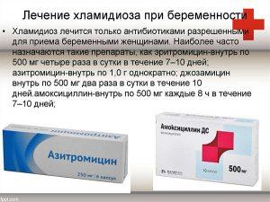 Лечение хламидиоза при беременности