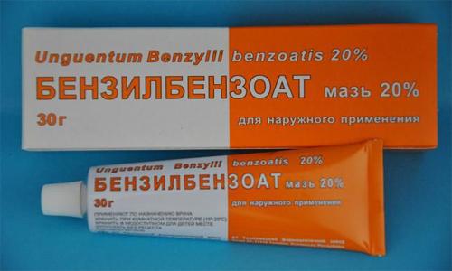 Бензилбензоат мазь - инструкция по применению, цена, аналоги