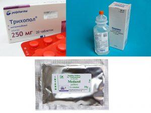 Популярные препараты с метронидазолом