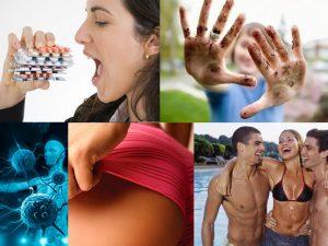Причины вторичного вульвита