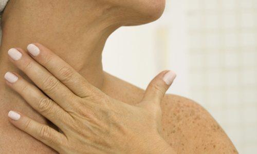 Ожерелье венеры на шее симптомы