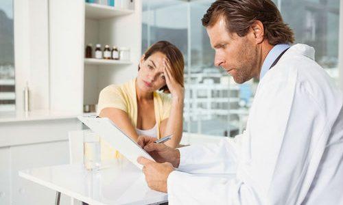 Жалобы на подострый аднексит