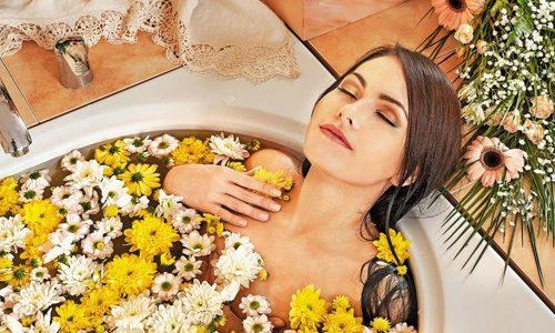 Ванны с лекарственными растениями