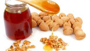 Мед и грецкий орех
