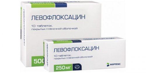 Левофлоксацин при простатите