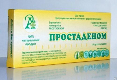 Лечение простатита Простаденомом