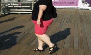 Женщины, страдающие ожирением