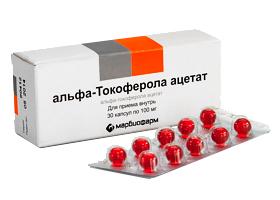 Препарат Токоферол