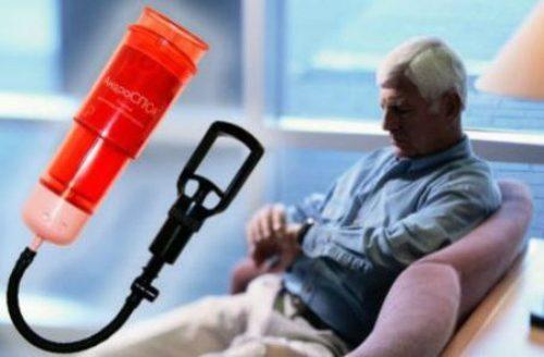 Вакуумная помпа для лечения эректильной дисфункции